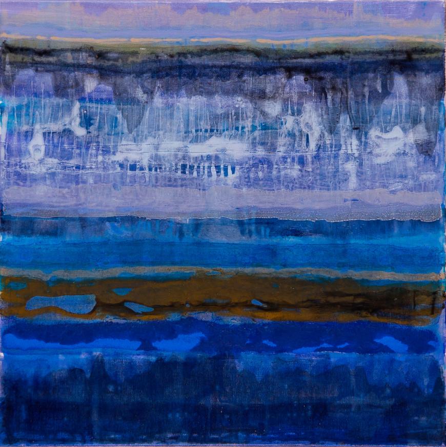 Vorschaubild des Kunstwerks 'Am Meer I' aus dem Verleih der Artothek Hallstadt.