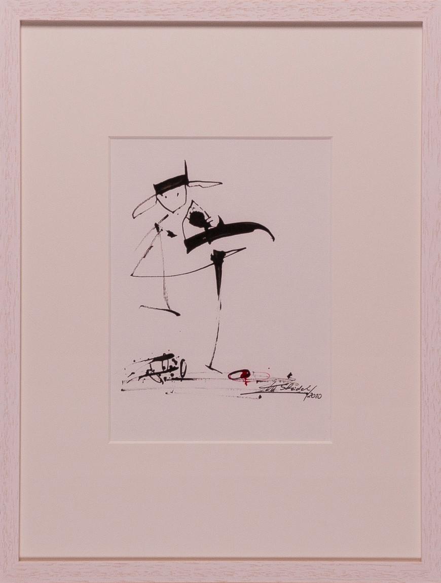 Vorschaubild des Kunstwerks 'Diego tanzt' aus dem Verleih der Artothek Hallstadt.