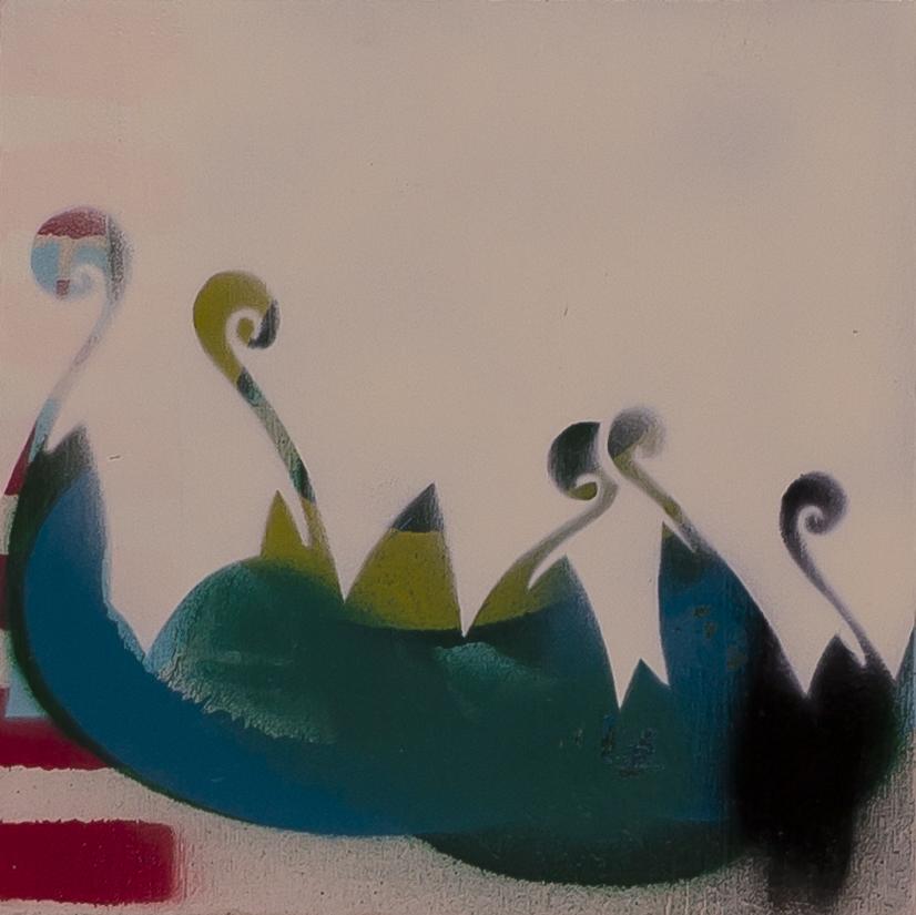 Vorschaubild des Kunstwerks 'Ohne Titel 1' aus dem Verleih der Artothek Hallstadt.