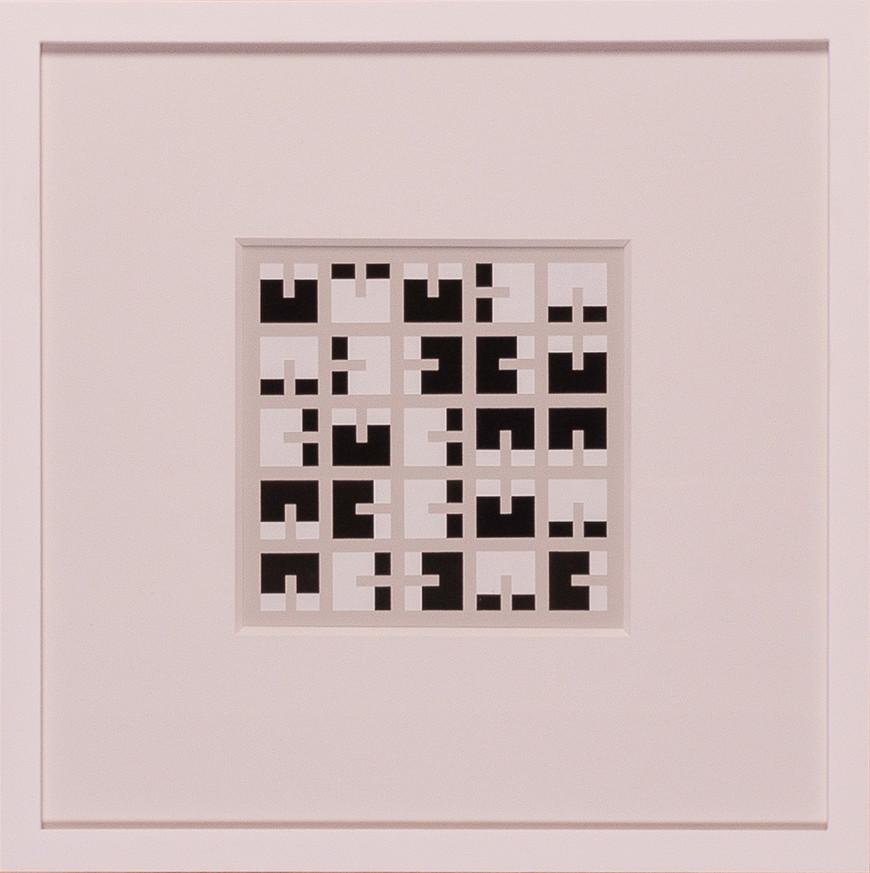 Vorschaubild des Kunstwerks 'Quadrate und Rechtecke II' aus dem Verleih der Artothek Hallstadt.
