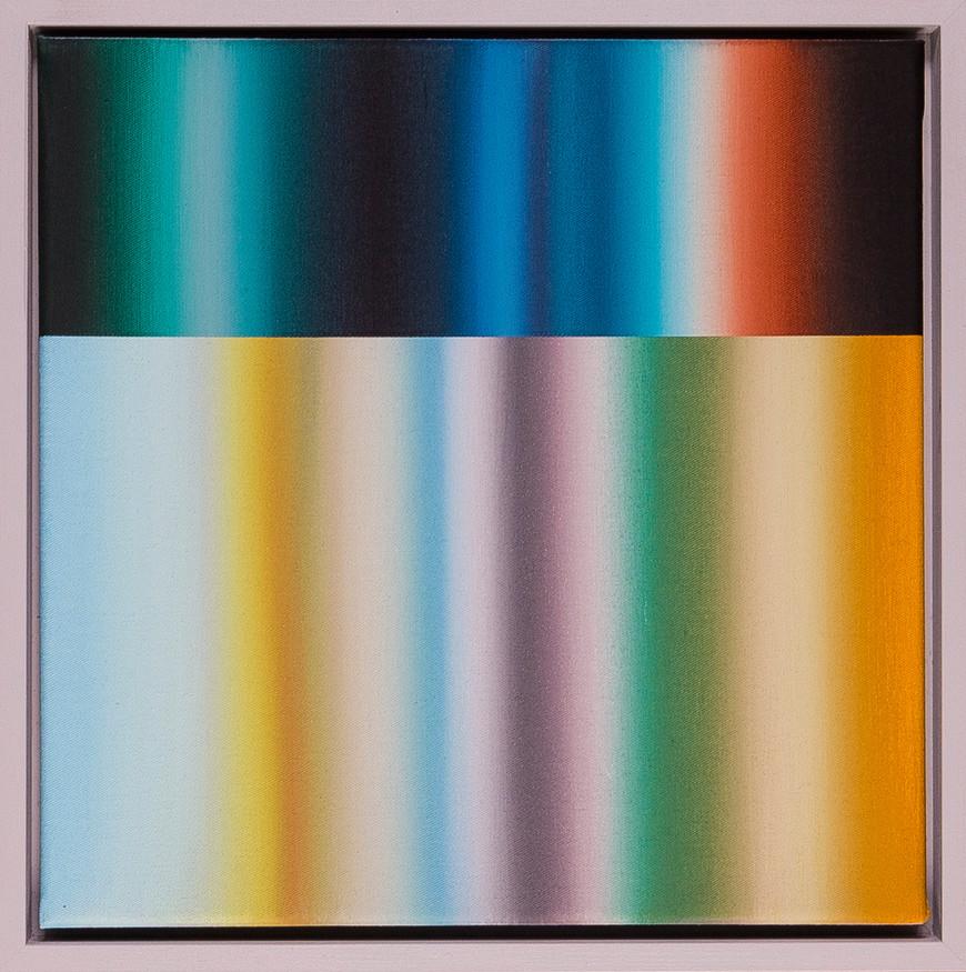 Vorschaubild des Kunstwerks 'Spektralwelt 30/6' aus dem Verleih der Artothek Hallstadt.