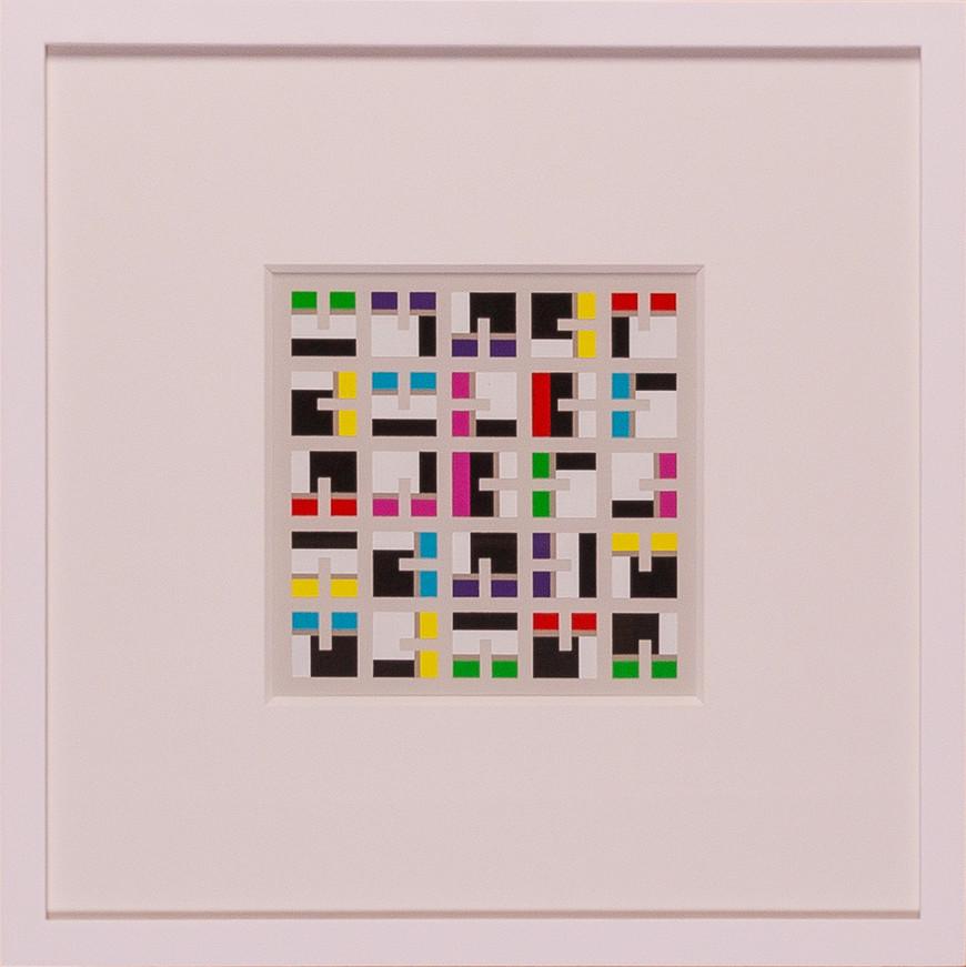 Vorschaubild des Kunstwerks 'Quadrate und Rechtecke IV' aus dem Verleih der Artothek Hallstadt.