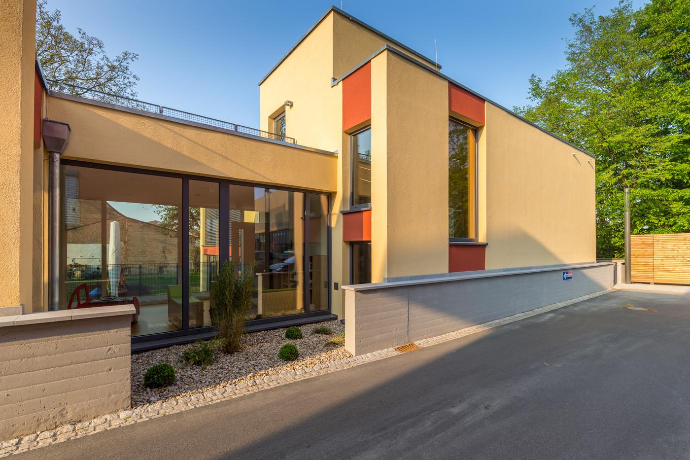 Das AWO-Kinderhaus, Bamberger Straße.