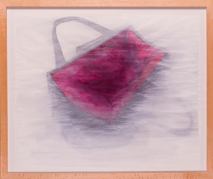 Vorschaubild des Kunstwerks 'Tasche Teil 2' aus dem Verleih der Artothek Hallstadt.