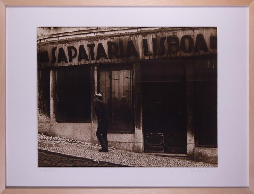 Vorschaubild des Kunstwerks 'Pessoas Lissabon I' aus dem Verleih der Artothek Hallstadt.