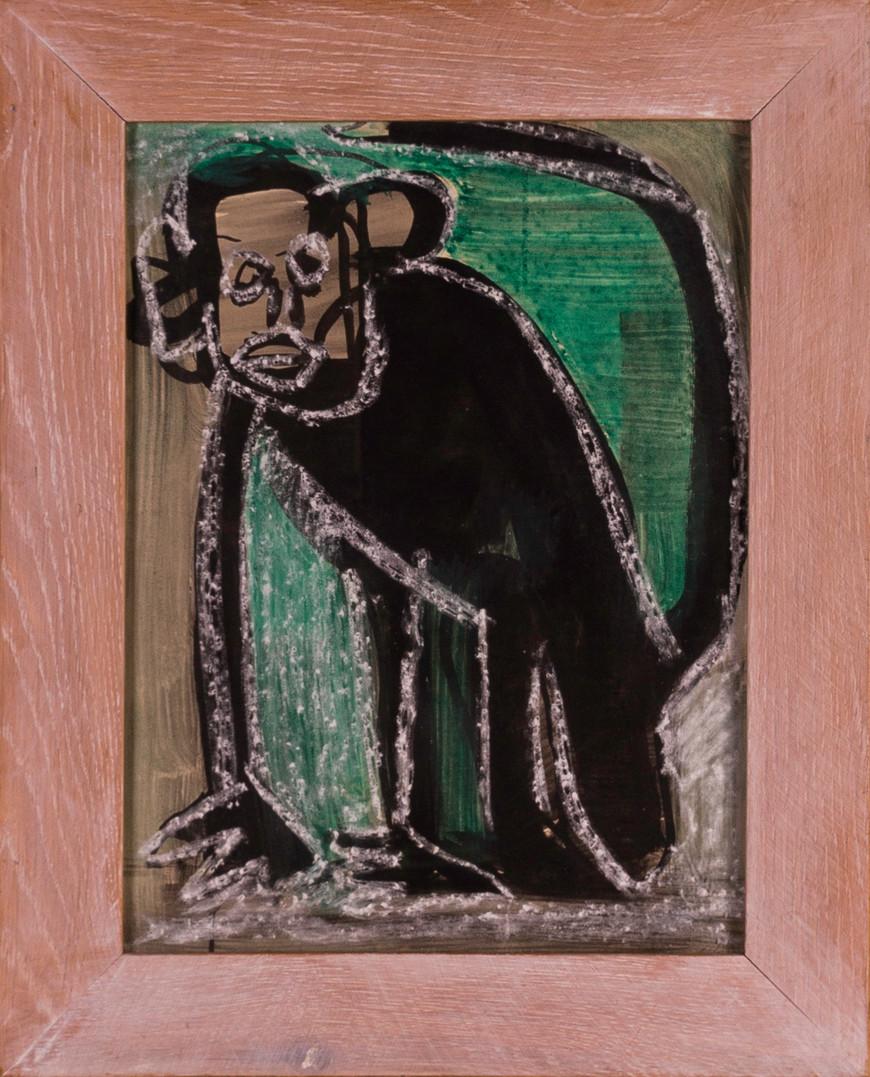 Vorschaubild des Kunstwerks 'Die Jahre des Affen, Blatt 13' aus dem Verleih der Artothek Hallstadt.