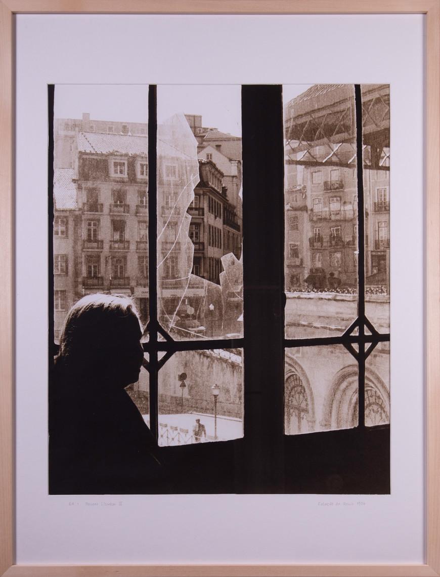 Vorschaubild des Kunstwerks 'Pessoas Lissabon II' aus dem Verleih der Artothek Hallstadt.