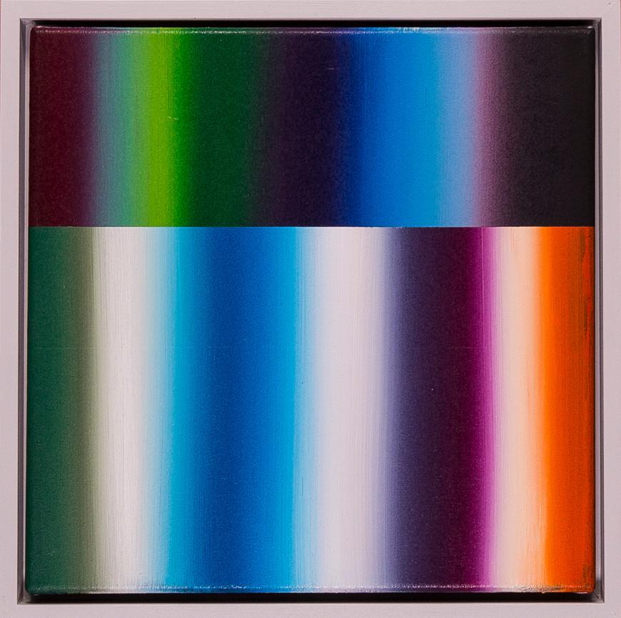 Vorschaubild des Kunstwerks 'Spektralwelt 30/11' aus dem Verleih der Artothek Hallstadt.