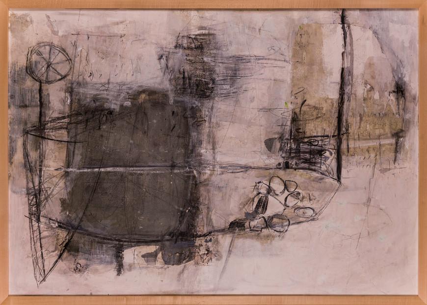 Vorschaubild des Kunstwerks 'Einradsegel' aus dem Verleih der Artothek Hallstadt.