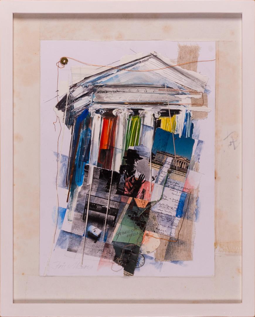 Vorschaubild des Kunstwerks 'Kulturkomplex I, Hommage an Joseph Beuys' aus dem Verleih der Artothek Hallstadt.