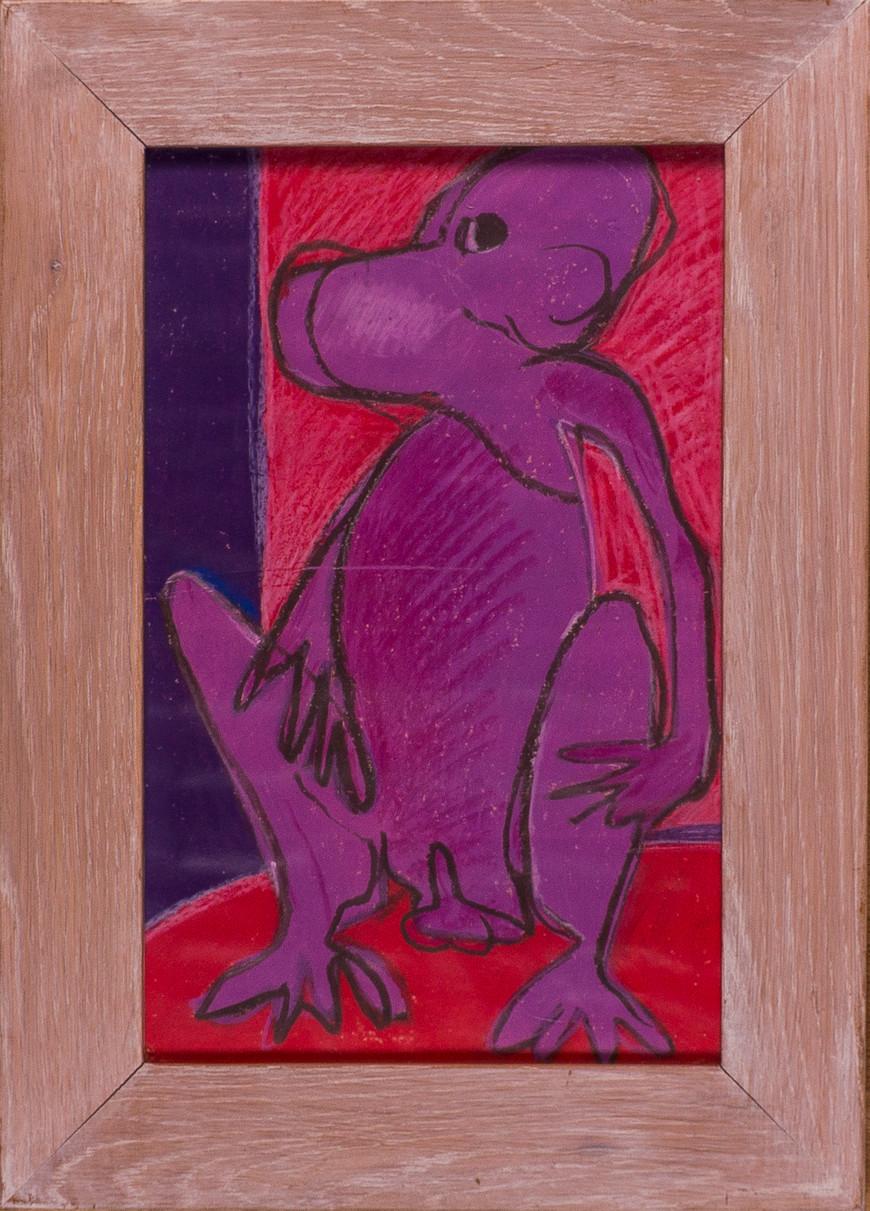 Vorschaubild des Kunstwerks 'Die Jahre des Affen, Blatt 6' aus dem Verleih der Artothek Hallstadt.