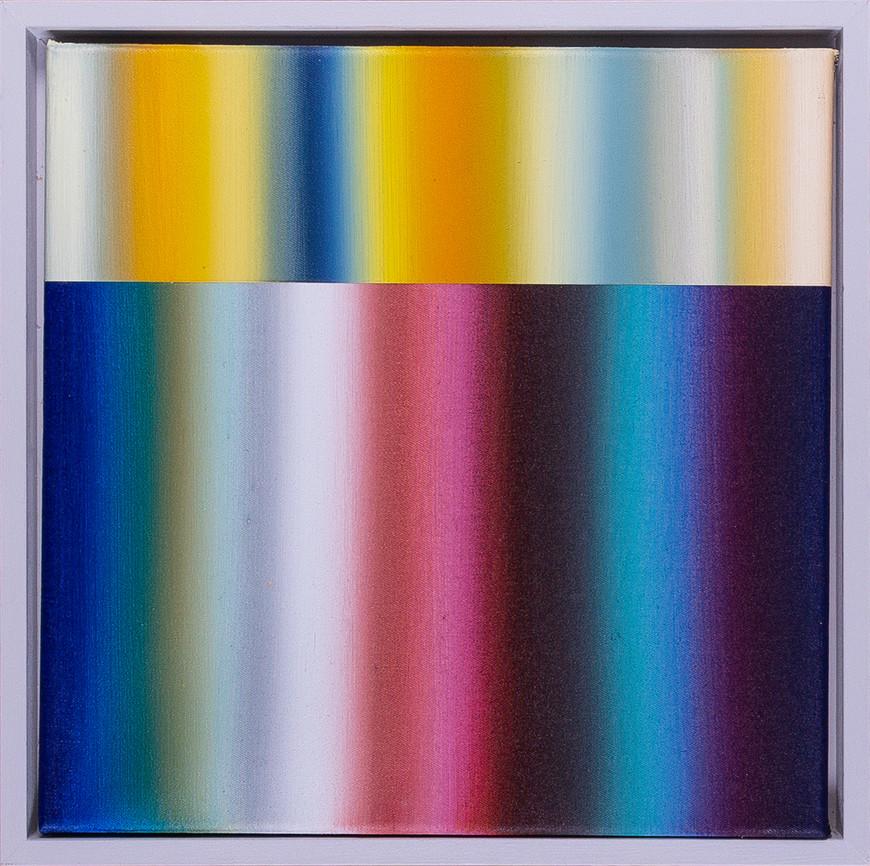 Vorschaubild des Kunstwerks 'Spektralwelten 30/10' aus dem Verleih der Artothek Hallstadt.