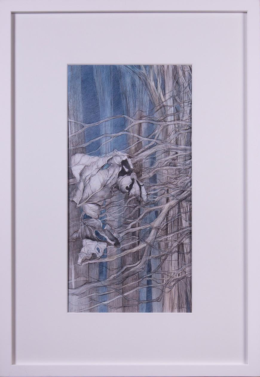 Vorschaubild des Kunstwerks 'Lose Blätter' aus dem Verleih der Artothek Hallstadt.